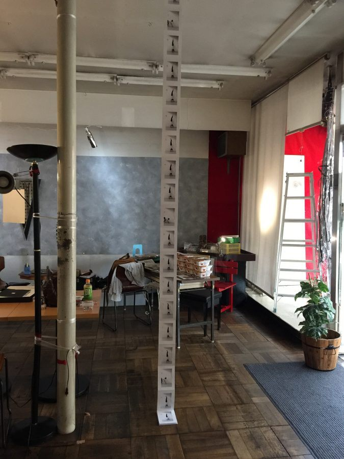 Interior view of Gallery Kouei