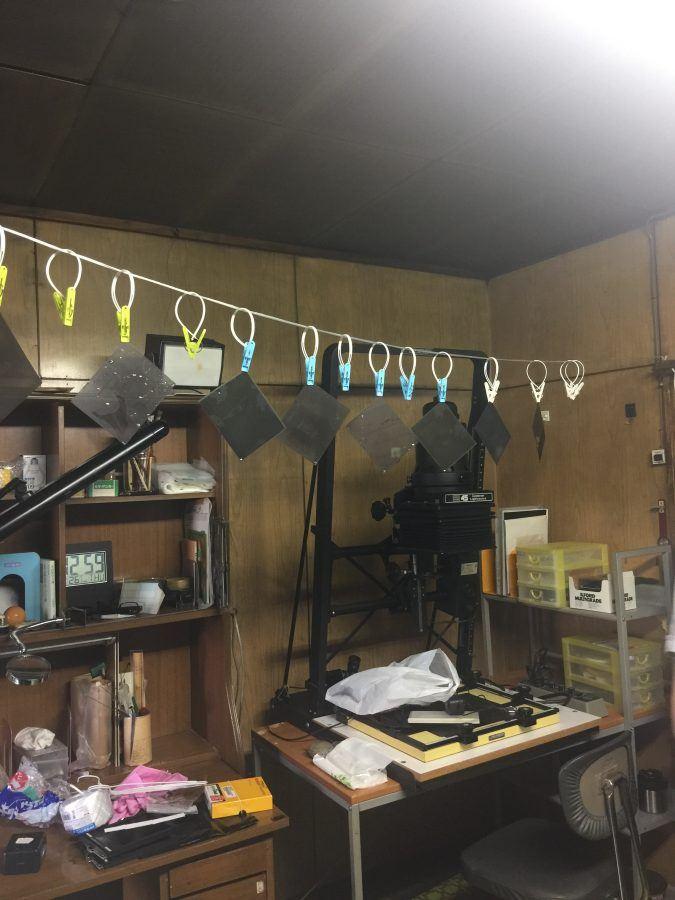 Darkroom above Gallery Kouei