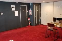 Installation views inside 日曜喫茶館 (Nichiyou kissa kan)